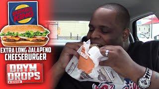 Burger King Extra Long Jalapeño Cheeseburger