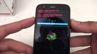Hard Reset Master Clear - Motorola Moto G Verizon, Boost Mobile GSM CDMA Password Removal