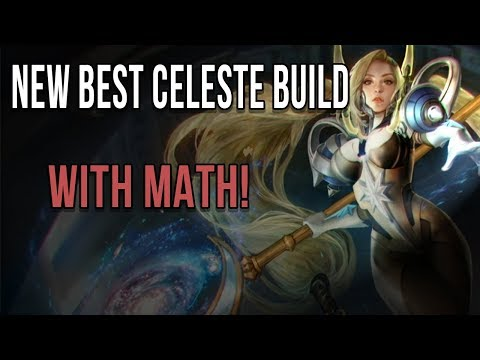NEW BEST CP CELESTE BUILD | USING MATHS TO ASSESS THE NEW 3 ITEM BUILD PATH ON CELESTE | VAINGLORY