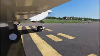 Grumman AA1B Soft Field Lesson from Albany Lesson
