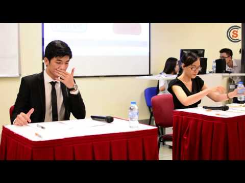 RMIT Vietnam Student Council Election 2014 - Presidential Debate