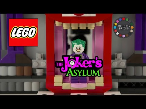 LEGO Custom Build JOKER'S ASYLUM (ARKHAM MOC) for DC Super Heroes Batman