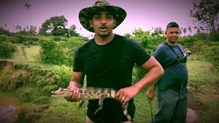 Berbice Guyana - Fishing in the Wild South American Amazon Sav…