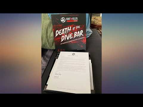 Hunt A Killer Death at The Dive Bar, Immersive Murder Mystery Game -Take on the review