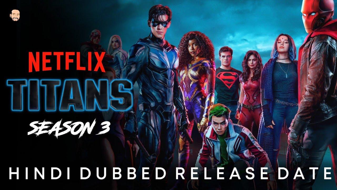 Download Titans Season 3 Hindi Dubbed Release Date   Titans Season 3 Hindi Trailer   Titans Season 3
