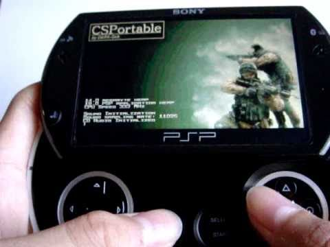 How To Psp Go Counter Strike Cs Csportable 0 9 Homebrew Easy