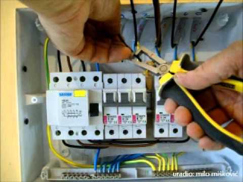 Automatski osiguraci montaza i ozicenje