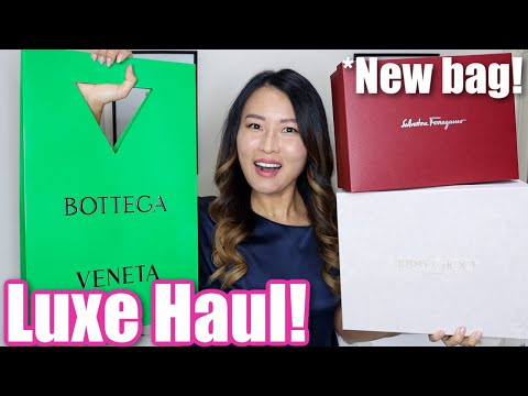 Luxury Haul *Classics with a Twist* Bottega, Burberry, Ferragamo etc!