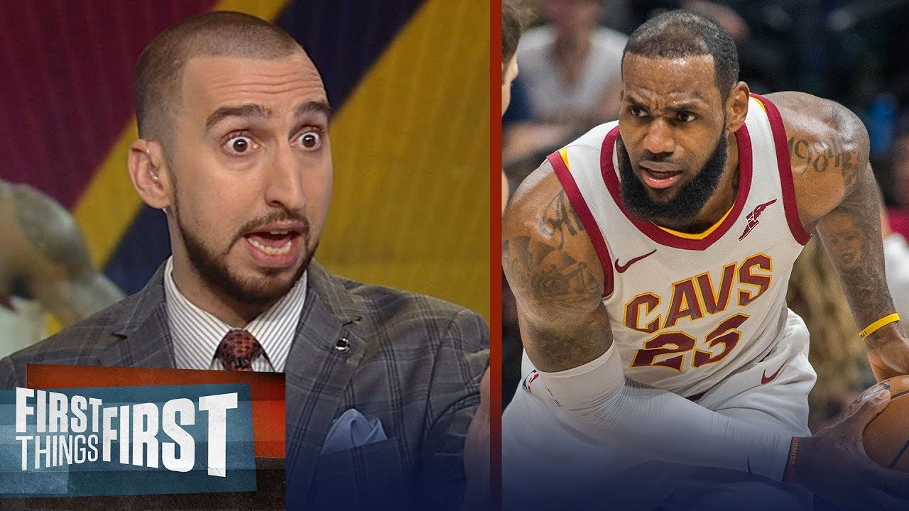 6ee01fcf0d3 Nick Wright on the origin of LeBron James  frustration with Isaiah Thomas