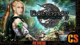 ETERNITY: THE LAST UNICORN - PS4 REVIEW (Video Game Video Review)