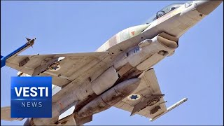 The Usual Tricks! Israeli Pilots Baited Syrian Missile By Hiding Under Wing of Russian Aircraft