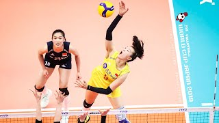 Changning Zhang (張常寧) - Powerful Volleyball SPIKES | Women's WORLD CUP Japan 2019