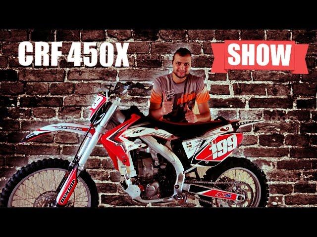 CRF 450x Ficha Tecnica