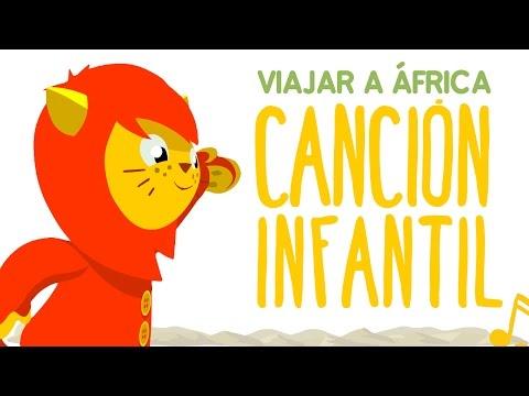 🎵 VIAJAR A ÁFRICA 🎵 | Canciones infantiles de NENE LEÓN | Canción infantil para viajar