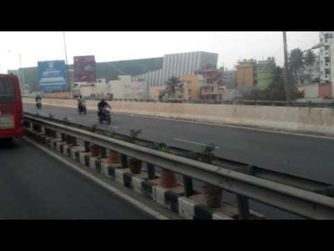 Bangalore electronic city flyover