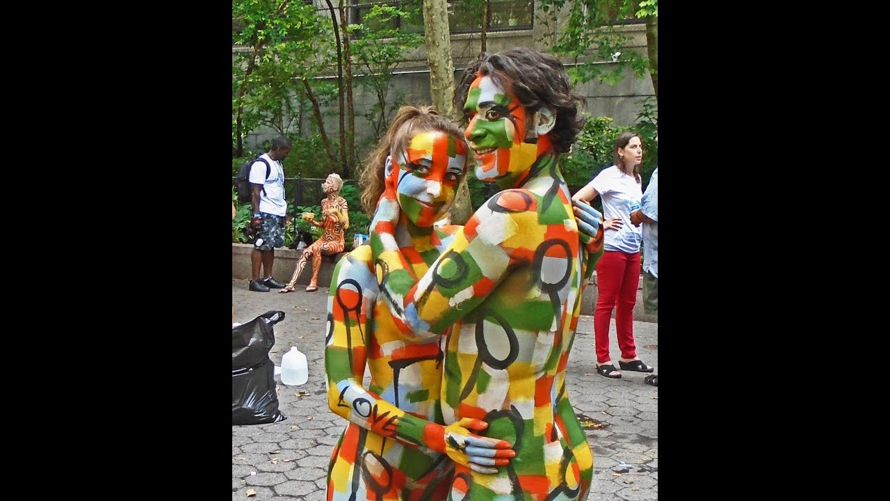 Bodypainting Day Part Ii On Saturday July 18 2015 Youtube