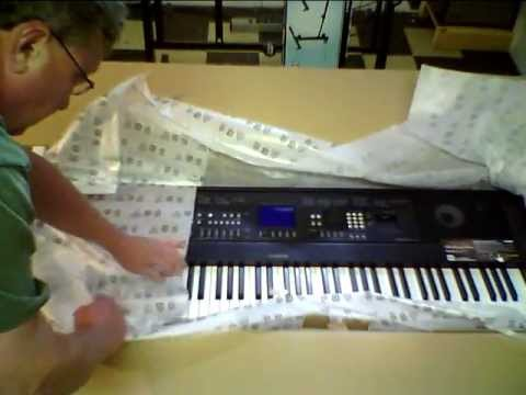 unboxing my yamaha dgx 650 digital grand piano youtube. Black Bedroom Furniture Sets. Home Design Ideas