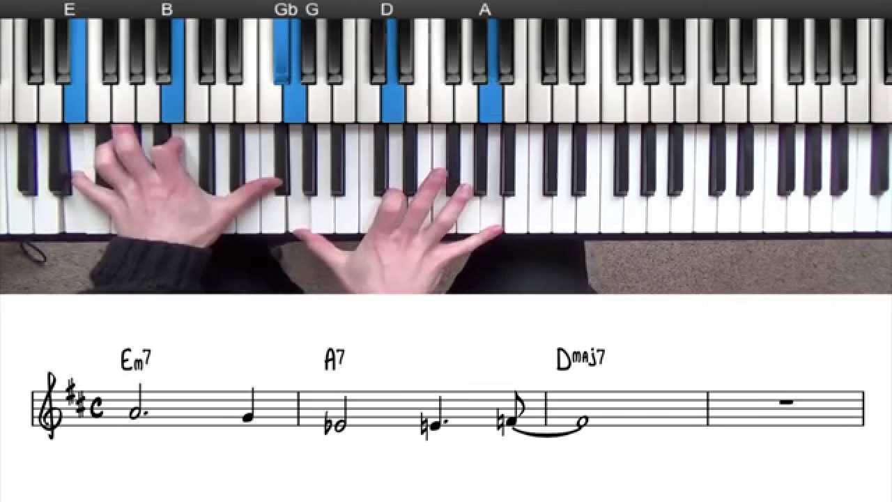 Major 251 progression explained jazz piano lesson youtube major 251 progression explained jazz piano lesson hexwebz Image collections