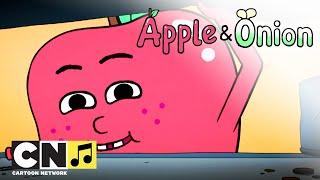 Jabłko i Szczypior | Gdzie jest but Jabłka? | Cartoon Network