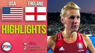 USA v England | 2018 Women's World Cup | HIGHLIGHTS