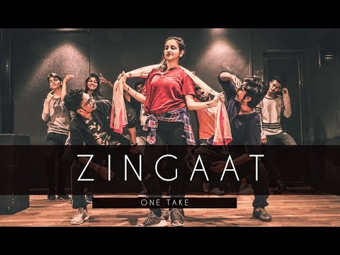 ZINGAAT | ONE TAKE | Tejas Dhoke Choreography | Dhadak | Dancefit Live