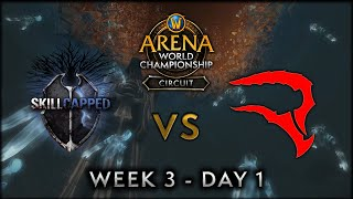 Skill Capped vs Reload Esports | Week 3 Day 1 | AWC SL Circuit