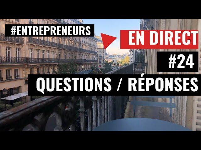 [ Live Questions/Réponses ] #24 - Expert-Comptable - Cabinet FICO - Grégory PROUVOST