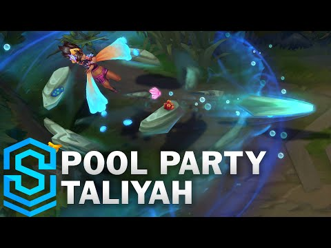 Pool Party Taliyah Skin Spotlight - League of Legends