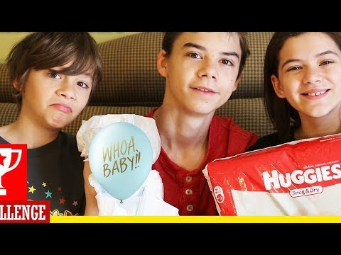 CANDY BAR POOPY DIAPER CHALLENGE!!  |  Baby Shower Game |  KITTIESMAMA