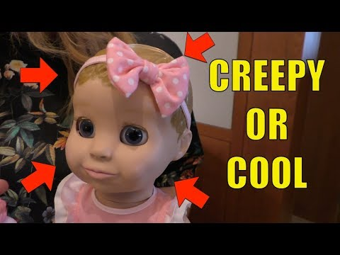 Luvabella Robotic Baby Doll Review Tell Us Creepy Or Cool