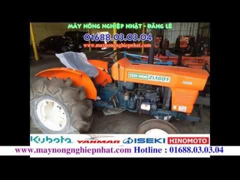Máy cày nhật bãi máy kéo máy bừa đã qua sử dụng Kubota Yanmar Iseki Giá tốt nhất