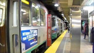 MBTA Transit Madness - Green line , Red line , Silver line & Orange line