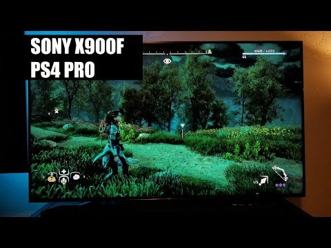 Sony X900f On The PS4 PRO And HDR Game Settings
