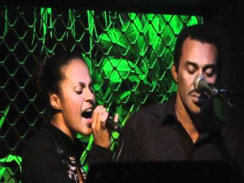 Dalinda Patricia - singing live at The Waterfront, Port Vila, Vanuatu.