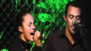Dalinda Patricia - singing live at The Waterfront, Port Vila, Vanuatu.