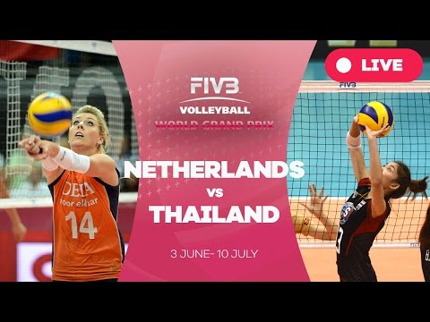 Netherlands v Thailand - Group 1: 2016 FIVB Volleyball World Grand Prix