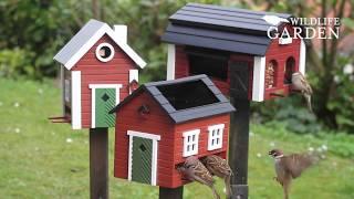 Produkty Wildlife Garden. Karmniki dla ptaków, domki dla owadów i budki lęgowe