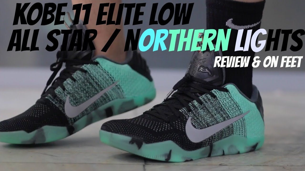 brand new f6a4c 05956 Nike Kobe 11 Elite Low  All Star  Review   On Feet