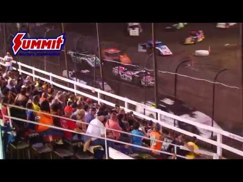 Summit Racing Equipment Modified Nationals Macon Speedway July 6, 2017 | HIGHLIGHTS