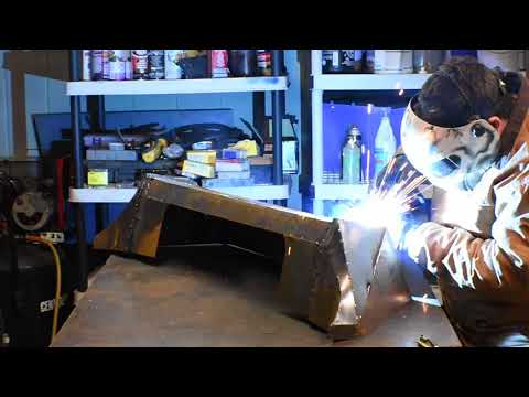 Jeep wrangler Metal Bumper fabrication
