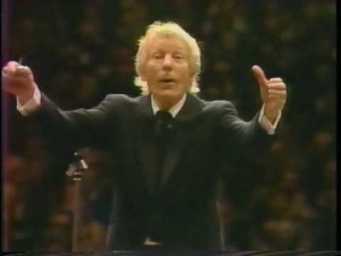 Danny Kaye conducts Beethoven Symphony no. 8
