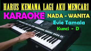 Download Lagu SEBUAH JANJI - Evie Tamala | KARAOKE Nada Cewek / Wanita || HD mp3