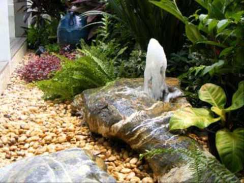 ตัวอย่างสวนหย่อม แบบ จัด สวน ข้าง บ้าน 2