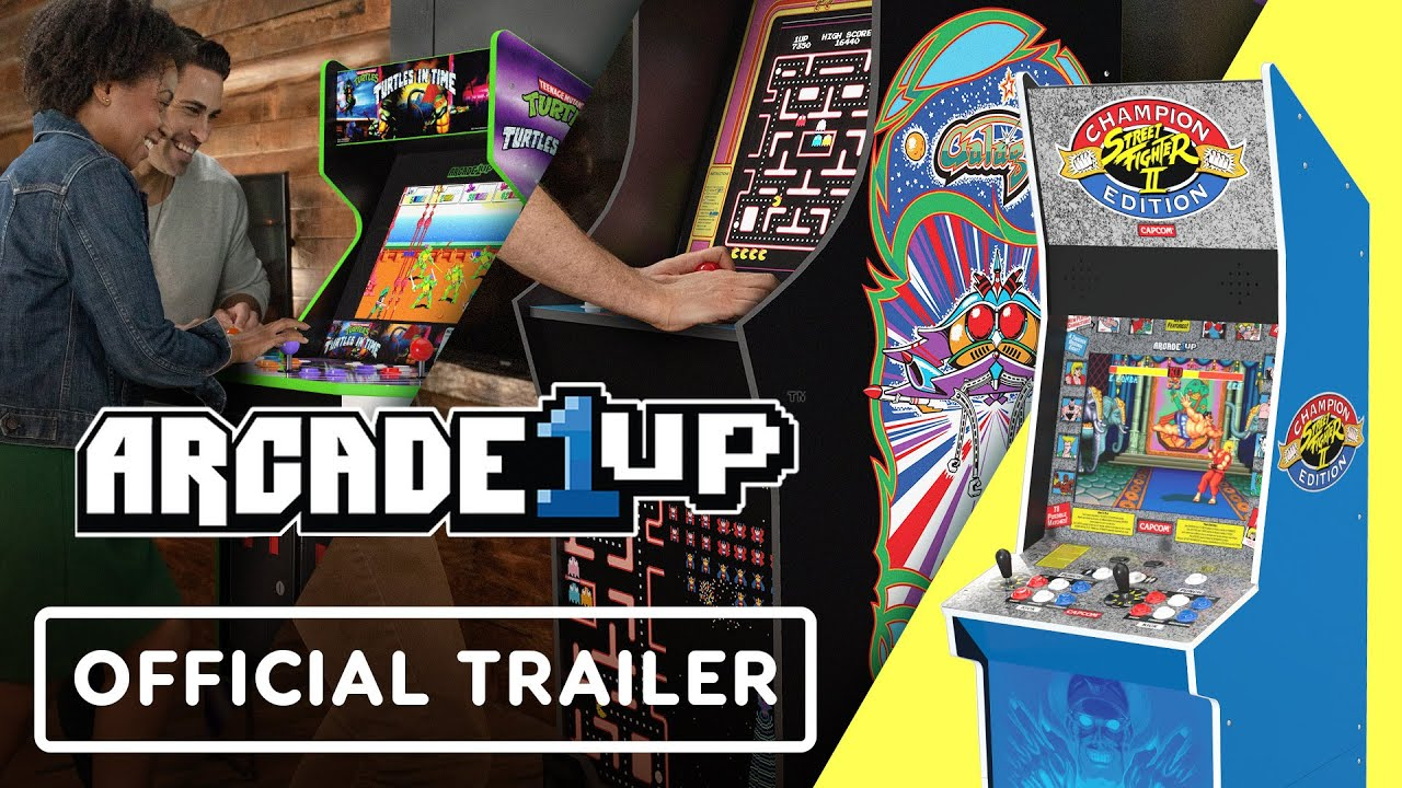 Turtles in Time & Street Fighter 2 - Official Arcade1up Cabinets Reveal Trailer | Summer of Gaming - IGN