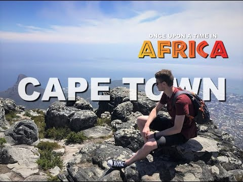 Backpacking in Cape Town South Africa  - Travel diary, G-Adventures 2018 HD