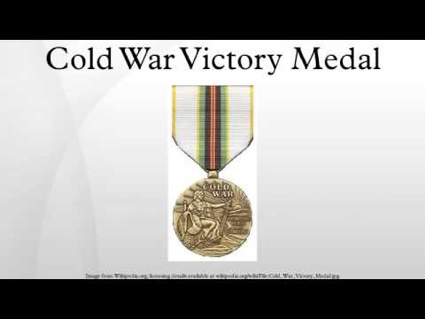 Cold War Victory Medal - YouTube