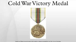 Cold War Victory Medal