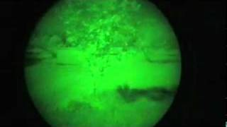 PVS14 third generation night vision test PVS 14 3rd gen, nvd, nvg