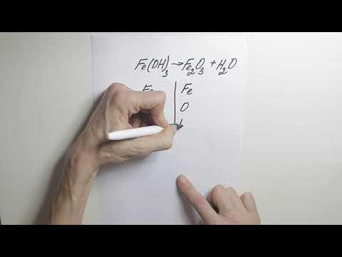Расставление коэффициентов в химических уравнениях видеоурок