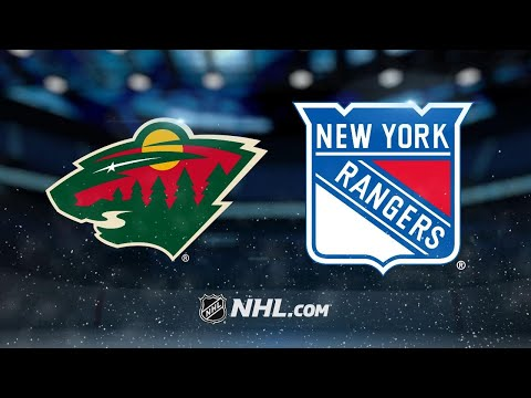 Staal, Granlund power Wild past Rangers, 4-1